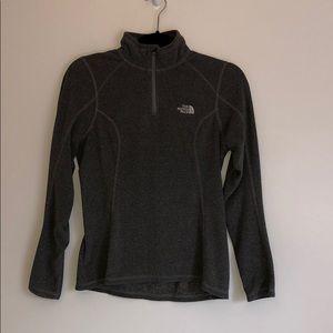 North Face quarter zip sweatshirt